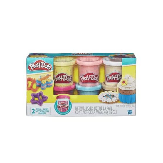 Play-Doh, Konfettilera, 6-pack