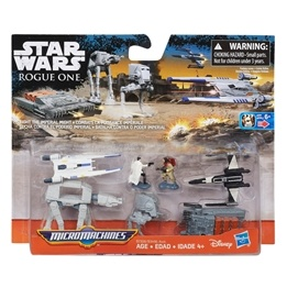 Star Wars, Micro-Machines Fight The Imperial Might
