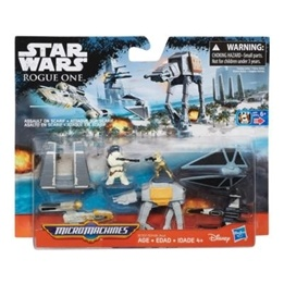 Star Wars, Micro-Machines Escape With The Plans