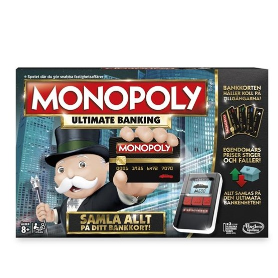 Monopoly Ultimate Banking (Sv)