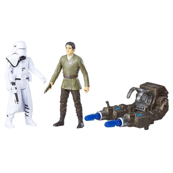 Star Wars, Snowtrooper Officer & Poe Dameron Deluxe Figures, 2-pack