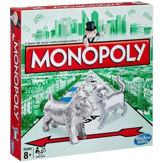 Hasbro Monopol Klassisk (Svenskt)