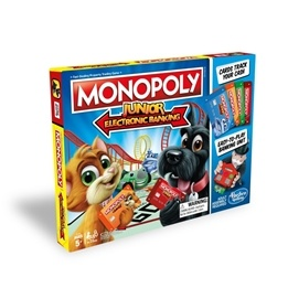 Hasbro, Monopol Junior Elektronisk bank
