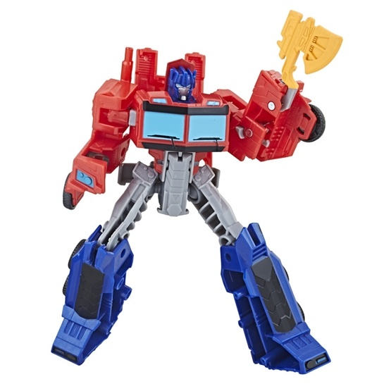 Transformers, Cyberverse Warrior Optimus Prime