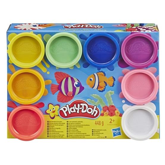 Play-Doh, 8 Burkar - Rainbow