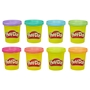 Play-Doh, 8 Burkar - Neon