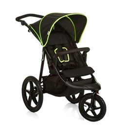 Hauck - Runner Joggingvagn Black Neon
