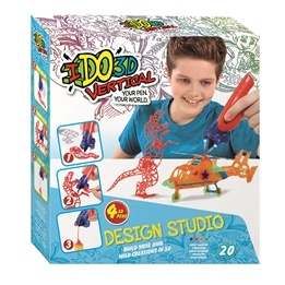 IDO3D, 3D Penna, Design Studio, Wild fun