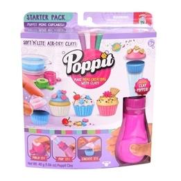 Poppit, Startpack med popper - cupcakes