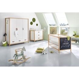 Pinolino - Barnmöbelset - Stor och Bred med krittavla 3 delar - Calimero