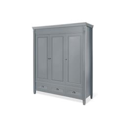 Pinolino - Stor garderob med tre dörrar - Grisu/Grå