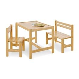 Pinolino - Barnbord och Stolset - Sven/Lackerat