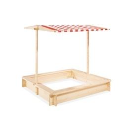 Pinolino - Sandlåda med Baldakin 120x120cm - Leonie