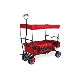Pinolino - Dragvagn Paxi dlx med broms - Röd