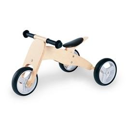 Pinolino - Kombi Trehjuling och Springcykel - Charlie/Natur