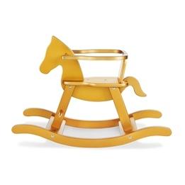 Pinolino - Gunghäst med säkerhetsbygel - Pinolino/Bok/Guld