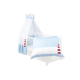 Pinolino - Textilset till Babysäng 4 delar - Skepp Ohoj