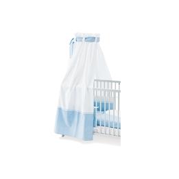Pinolino - Sänghimmel till Babysäng - Vichy-Karo/Blå