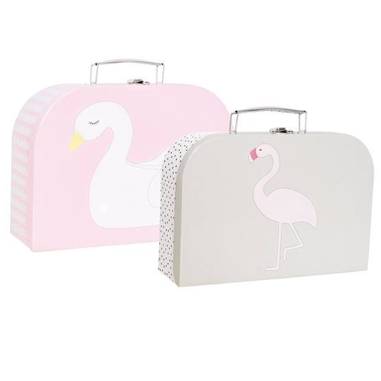 Jabadabado, Pappväska svan & flamingo