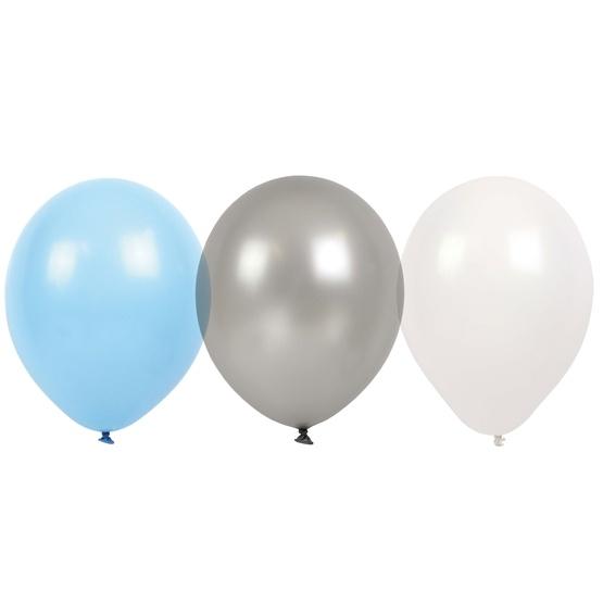 JaBaDaBaDo, Ballonger ljusblå 9 st