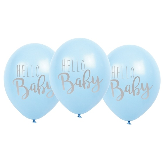 JaBaDaBaDo, Ballonger hello baby blå