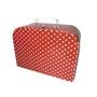 Jabadabado, Porslinservis i väska, 17 delar, Röd