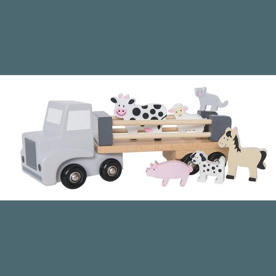JaBaDaBaDo, Lastbil med djur