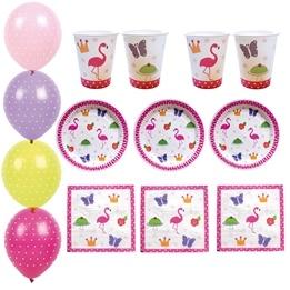 Jabadabado, Partypaket Litet Flamingo