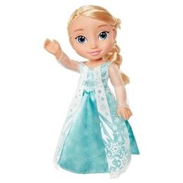 Disney Frozen, Elsa Toddler med glittercape 35 cm