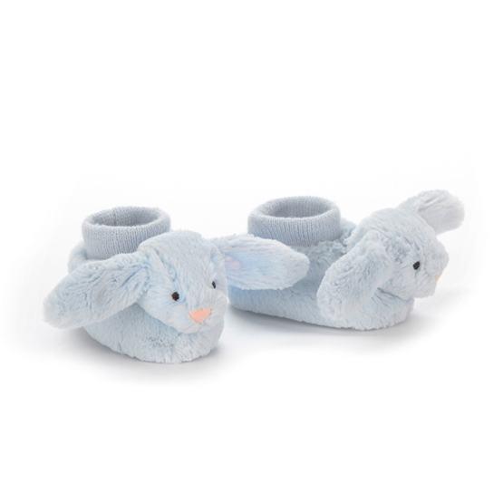 Jellycat - Bashful Blue Bunny Booties