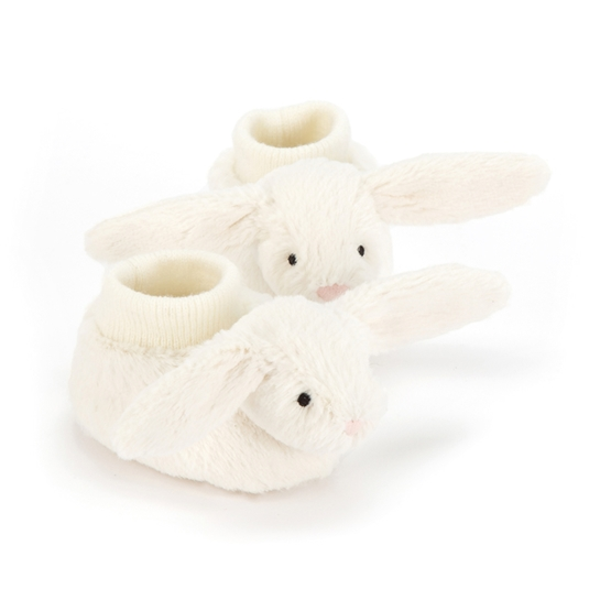 Jellycat - Bashful Cream Bunny Booties