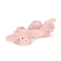 Jellycat - Bashfull Pink Bunny Booties