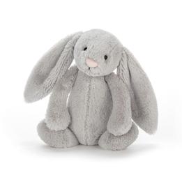 Jellycat - Bashful Silver Bunny Chime