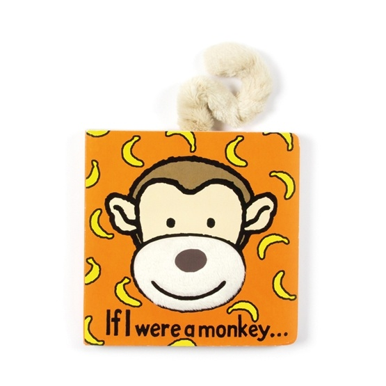 Jellycat - If I Were A Monkey Board Book