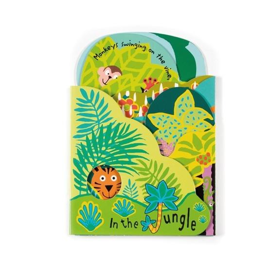 Jellycat - In The Jungle Board Book