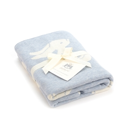 Jellycat - Bashful Blue Bunny Blanket