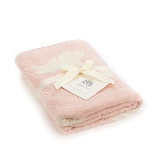Jellycat - Bashful Pink Bunny Blanket