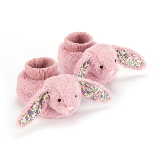 Jellycat - Blossom Tulip Bunny Booties