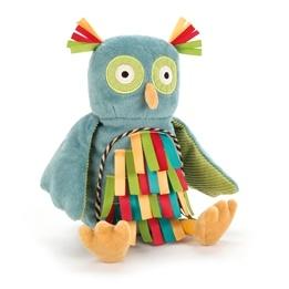 Jellycat - Carnival Owl Rattle