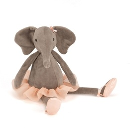 Jellycat, Dancing Darcey Elephant 33 cm