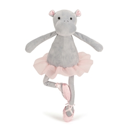 Jellycat, Dancing Darcey Hippo 33 cm