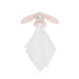 Jellycat - Bashful Pink Bunny Muslin Soother