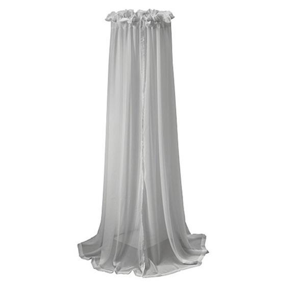 Jollein, Voile Sänghimmel - 155 cm grå