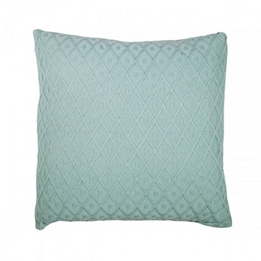 Jollein, Kuddöverdrag - Diamond knit 50x50 cm vintage grön