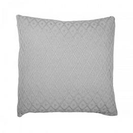 Jollein, Kuddöverdrag - Diamond knit 50x50 cm vintage grå