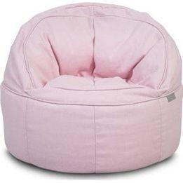 Jollein, Barnsoffa beanbag - Canvas vintage pink
