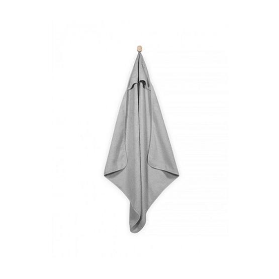 Jollein, Badcape 75x75 cm grå