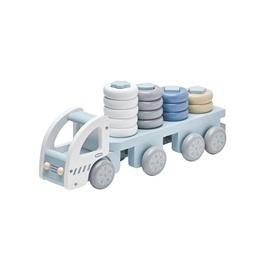 Kids Concept, Plocklastbil pastellblå