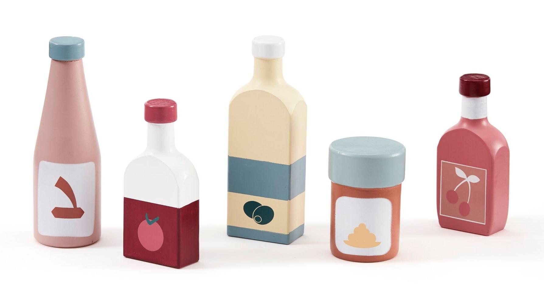 Kids Concept, Kid's Bistro - Flaskset 5 st