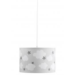 Kids Concept, Star Cloud Taklampa Grå